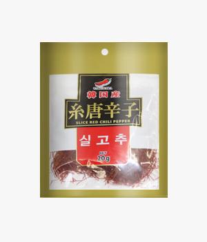 韓国産糸唐辛子20g title=韓国産糸唐辛子